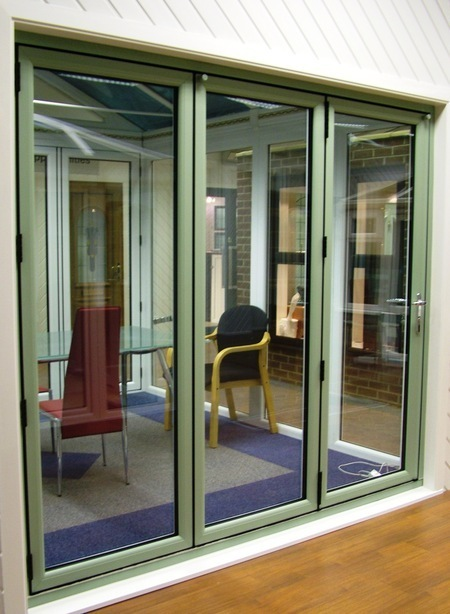 Slim upvc bifold doors made to measure and standard for Upvc folding doors