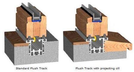 Timber Bi Folds Threshold Options Folding Doors 2 U
