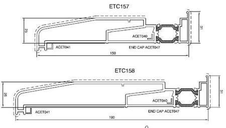 Aluminium Bi Folds Technical Details Folding Doors  U