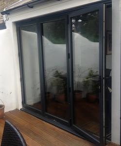 anthracite grey bifold door