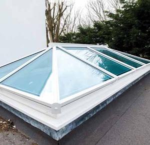 Roof Lanterns In Aluminium And Upvc Triple Glazing