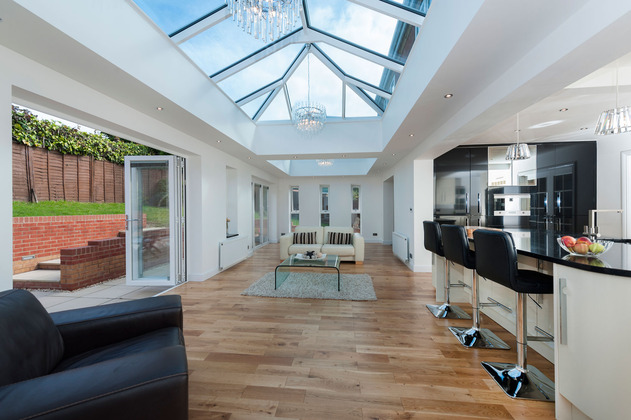 Matching Roof Lanterns and Windows