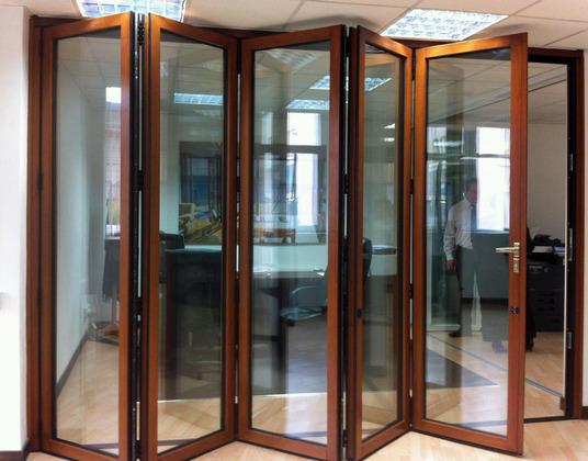 Timber bi fold doors at affordable prices folding doors 2 u for Internal folding doors