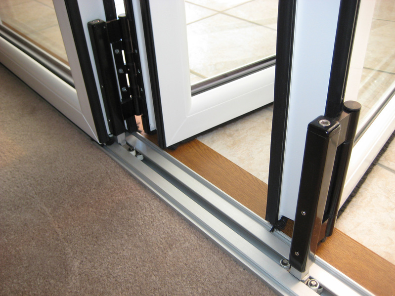 1790 X 2090 Wood Grain Upvc Bi Folds Folding Doors 2 U