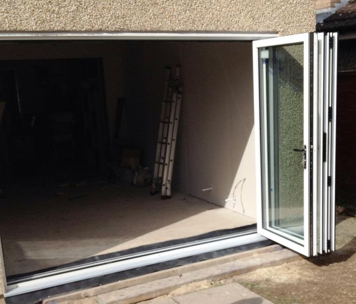3 Panel White Aluminium Bi Fold Door Folding Doors 2 U
