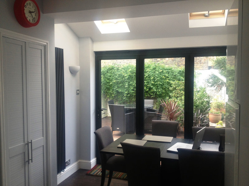 3 Panel Grey Aluminium Bi Fold Door Folding Doors 2 U