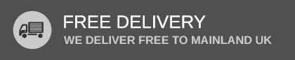 We deliver free to mainland UK