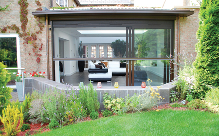 triple track patio door insect screen