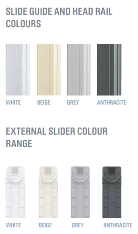 slider colours