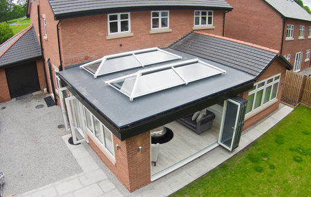 white ultrasky roof lanterns