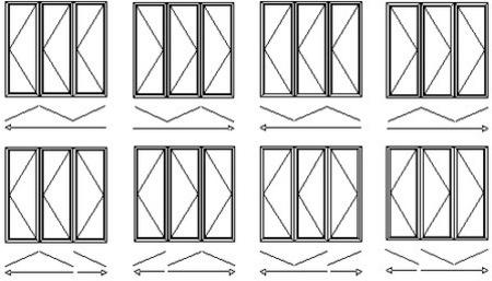 Bon Timber Bifold Door Styles
