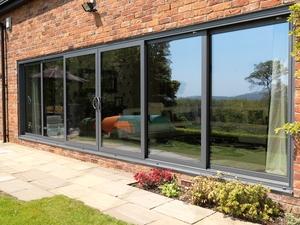 Aluminium sliding patio doors folding doors 2 u triple track patio internal view visoglide triple track planetlyrics Images