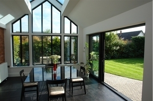 Aluminium Sliding Patio Doors Folding Doors U - Triple patio door
