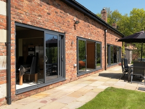 Black Patio Door, Visoglide Patio Doors