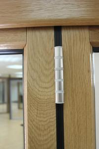 brushed nickel hinge