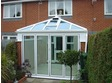 Timberlook upvc bifold door fitted in an Edwardian conservatory