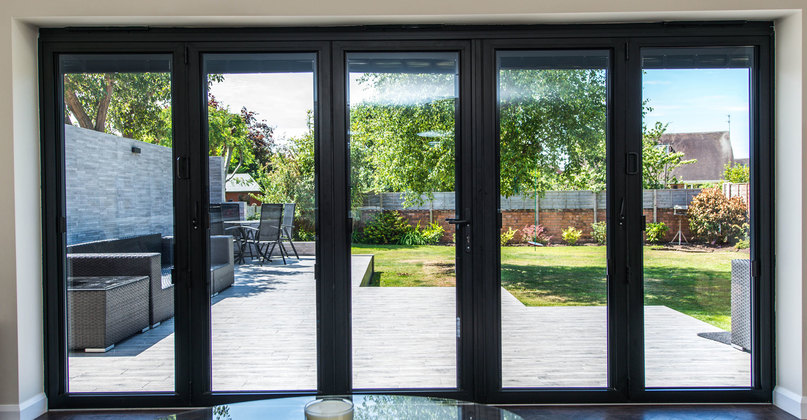 Visofold 1000 Aluminium Bifold Doors & Aluminium Bifold Doors | Folding Doors 2 U Pezcame.Com