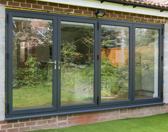 Slim Sightlines with wider glass