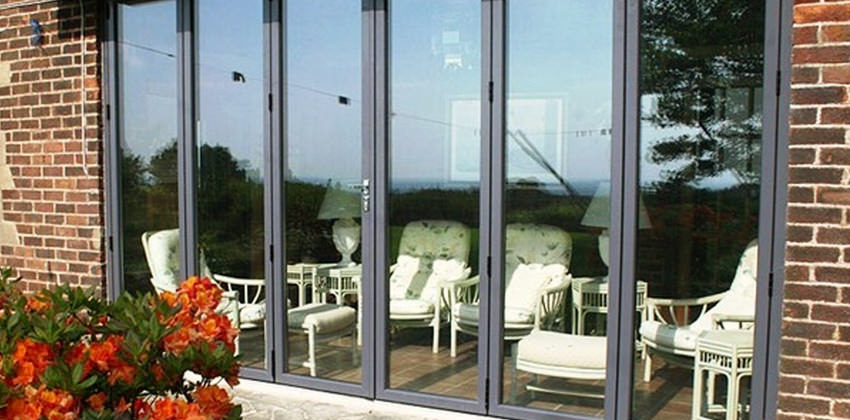 High Security Locking & Aluminium and Hardwood Bifold Doors | Folding Doors 2 U