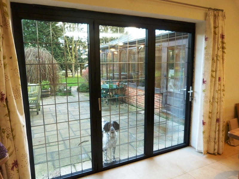 Black Accordion Doors : Aluminium bi fold door gallery folding doors u