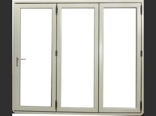 1970 x 2090 White 3 Panel Veka Imagine uPVC Bifold Door