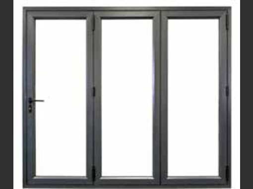2990 x 2090  3 Panel Veka Imagine Wood Grain uPVC Bifold Door