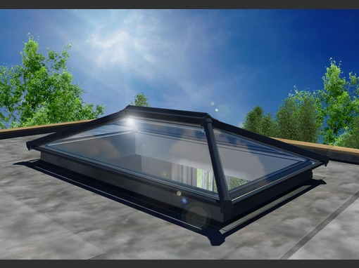 2500 x 1500mm UltraSky Aluminium Roof Lantern