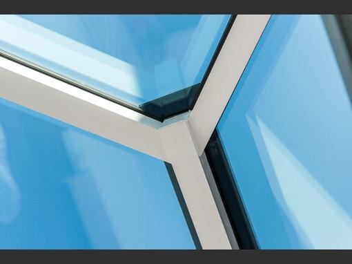 4000 x 1500 white aluminium roof lantern fd2u for 1500mm patio doors
