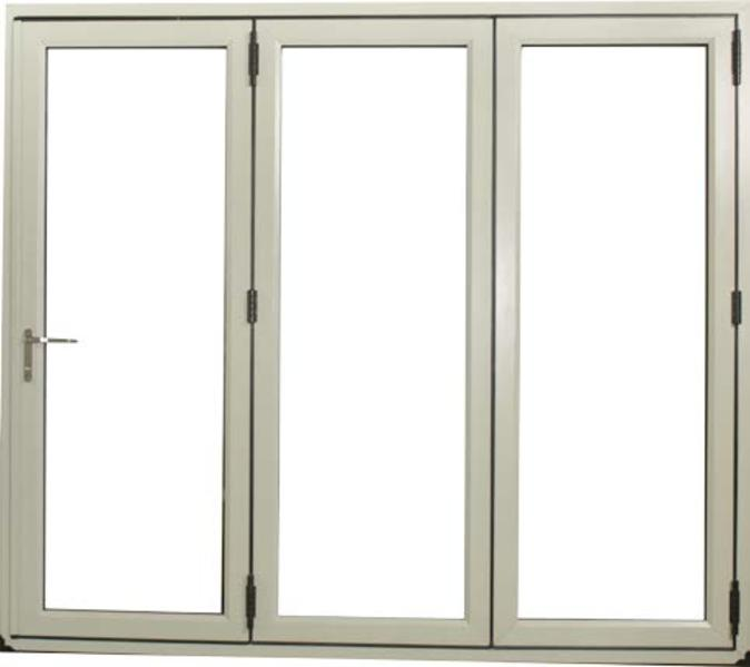 2990 x 2090 Veka Imagine White 3 Panel uPVC Bifold Door